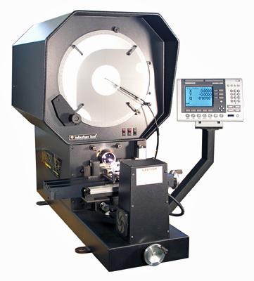 "Suburban Tool MV-140-QRE 14"" Erect Image Optical Comparator"