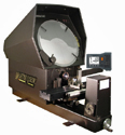 "Suburban Master-View 14"" Optical Comparators with Heidenhain Digital Readout"