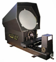 "Suburban Tool Master-View 14"" Optical Comparator with LCD Scales"